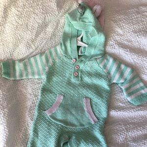 Cat and Jack unicorn romper